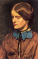 Annie Miller, 1854, millais