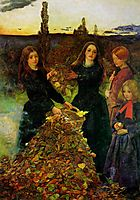 Autumn Leaves, 1855-1856, millais