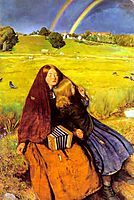 The Blind Girl, 1854-1856, millais