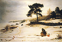 Blow, Blow Thou Winter Wind, 1892, millais