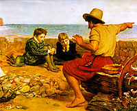 The Boyhood of Raleigh, 1870, millais