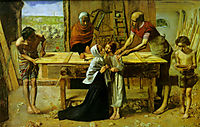 Christ in the House of His Parents, 1849-1850, millais
