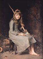 Cinderella, millais
