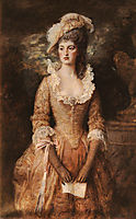 Clarissa, 1887, millais