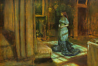 The Eve of Saint Agnes, 1863, millais