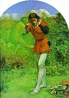 Ferdinand Lured by Ariel, 1849-1850, millais