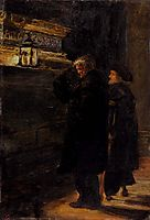 Greenwich Pensioners At The Tomb Of Nelson, millais