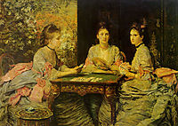Hearts are Trumps, millais