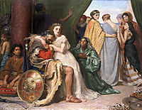 Jephthah, 1867, millais