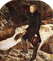 John Ruskin, 1854, millais