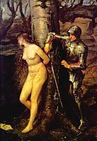The Knight Errant, 1870, millais