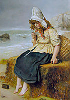 Message from the Sea, millais