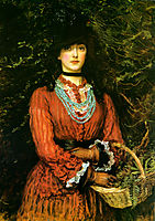 Miss Eveleen Tennant, millais