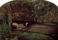 Ophelia, 1852, millais