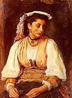 Pippa detail, 1876, millais