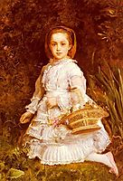 Portrait Of Gracia Lees, 1875, millais