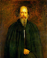 Portrait of Lord Alfred Tennyson, millais
