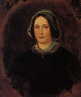 Portrait of Mrs William Evamy The Artists Aunt, millais