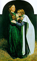 The Return of the Dove to the Ark, 1851, millais