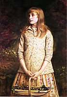 Sweetest eyes were ever seen, millais
