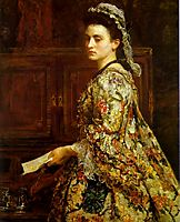 Vanessa, 1868, millais