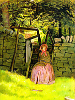 Waiting, 1854, millais