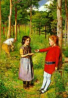 The Woodman-s Daughter, 1851, millais