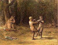 Amour-s dance, c.1860, millet