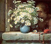 The Bouquet of Margueritas, 1866, millet
