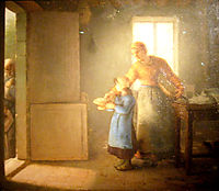 Charity, 1859, millet