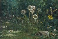 Dandelions, 1868, millet