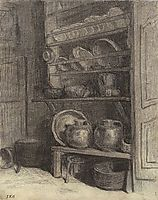 The dresser in Gruchy, 1854, millet