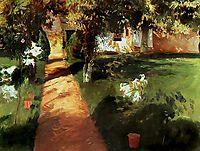 Garden, millet