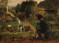 Garden Scene, millet