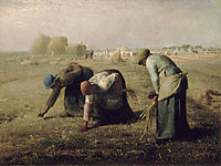 The Gleaners, millet