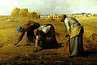The Gleaners, 1857, millet