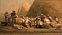 Harvesters Resting, 1850-1853, millet