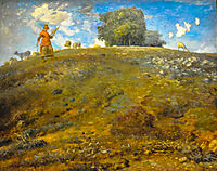 In the Auvergne, 1869, millet