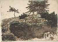 Landscape, Vichy, c.1866, millet