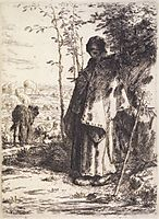 The Large Shepherdess, c.1862, millet