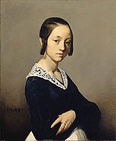 Louise-Antoinette Feuardent, 1841, millet