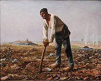The Man with the Hoe, 1862, millet