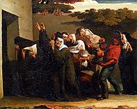 The Nun-s Parrot, 1840, millet
