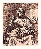 The porridge, 1861, millet