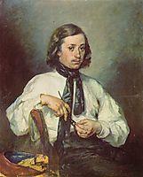 Portrait of Armand Ono, c.1843, millet