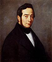 Portrait Of Eugene Canoville, 1840, millet