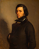 Portrait of a man, 1845, millet