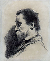 Portrait Of A Man, Said To Be Leopold Desbrosses, millet