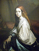 Portrait of Pauline Ono, 1844, millet