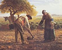 The potato growers, millet